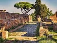 Starověký Řím Ostia - Starověký Řím Strada Ostia
