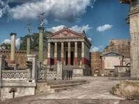 Místo natáčení starodávných filmů v Římě