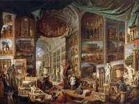 Pannini festménye az ókori Rómában