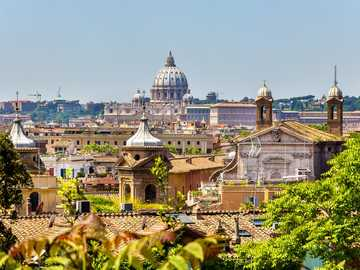 Vista panoramica di Roma - Vista panoramica di Roma