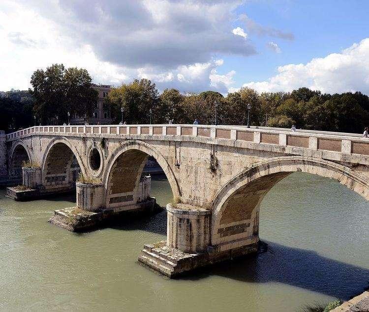 Roma Ponte Sisto sul Tevere (11×10)