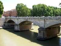 Rom Ponte Mazzini über den Tiber