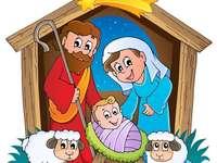 Jesuskind Geburtsrätsel