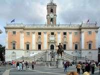 Římský kapitol Piazza del Campidoglio - Římský kapitol Piazza del Campidoglio