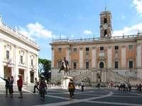 Rom Kapitol Piazza del Campidoglio
