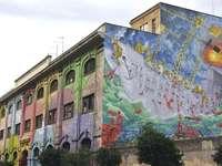 Рим Via del Porto Fluviale Street Art