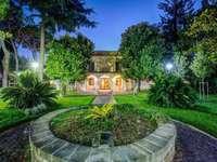 Rom Hotel Appia Park mit Garten
