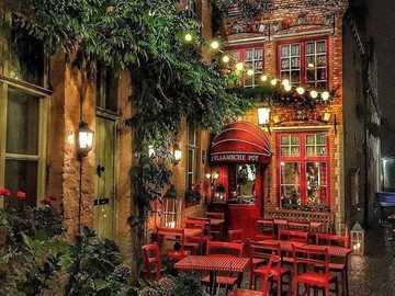 Lovely Beligum - This Is A Photo Of A Fancy Eating Place.