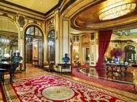 Rzym Hotel Sankt Regis lobby - Rzym Hotel Sankt Regis lobby