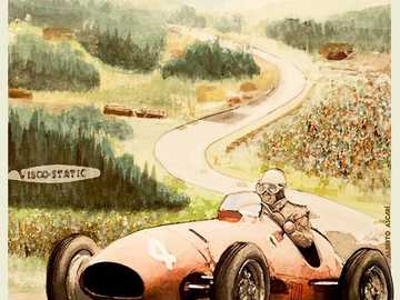 Grand Prix Racing - This Is A Photo Of A Racing In 1952