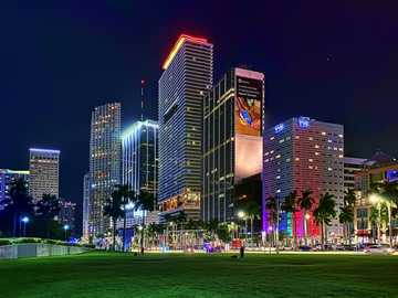The City Of Miami - This Is A Photo Of Miami Florida USA From 2020.