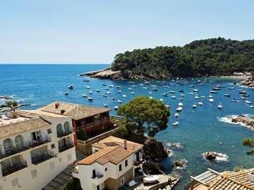 Blick vom Hotel in Spanien - Blick vom Hotel in Spanien