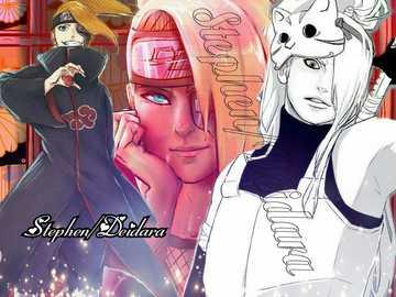 Deidara Kamiruzu - Deidara Kamiruzu, Collage