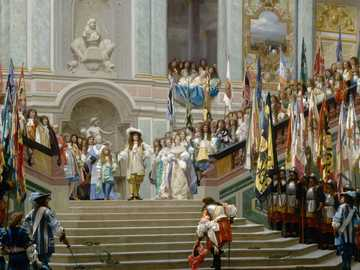 Ludwig XIV - König von Frankreich, Schloss Versailles, Musketiere