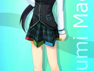 Madobe Mutsumi - Det här är Nanamis syster, Madobe Mutsumi.