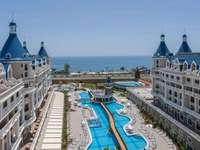 Hotel with pool in turkey - M ......................
