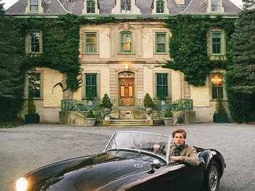 Austin Healey - This Is A Photo Of A Classic Sports Car.