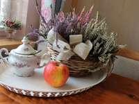 őszi virágok - hanga