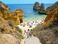 strand Portugáliában - m ........................