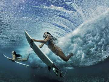 сърфиране, вълни - м ........................