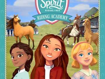 Spirit riding free Palomino bluffs - Spirit and Lucky ❤️❤️❤️❤️❤️❤️❤️❤️❤️❤️❤️❤️❤️❤�