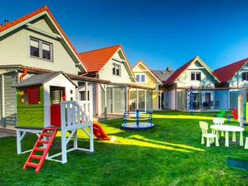 cottages with a play table - m ..........................