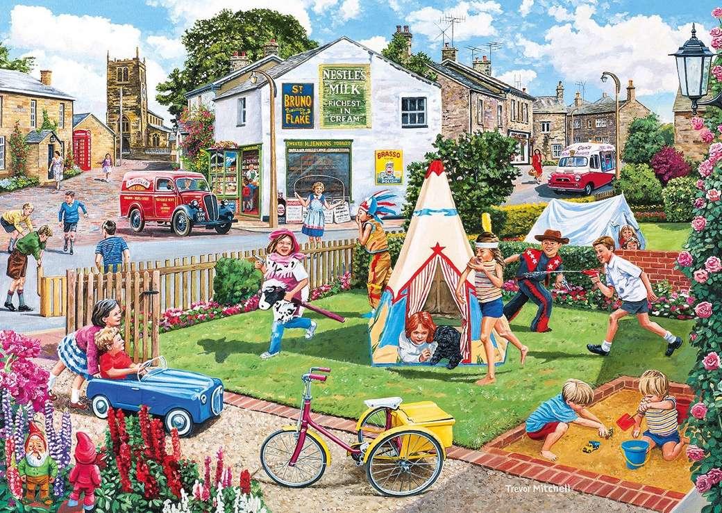 забавни игри - Страхотно детство. Деца, забавление, улица, играчки, ден. Забавление, безгрижие, деца, игривост (12×9)