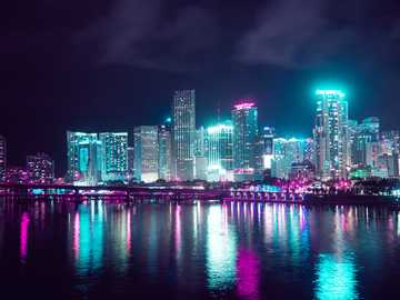 Miami Florida - This Is A Photo Of Miami Florida USA From The Year 2020.