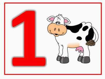 Animale domestice - Rezolva puzzle-ul, numeste numărl și numără obiectele din imagine.