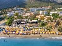 beach in crete - m ......................