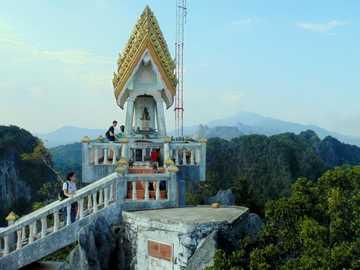 temple in krabi- asia - m ...........................