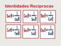 wederzijdse identiteiten - Zoek de wederzijdse trigonometrische identiteiten