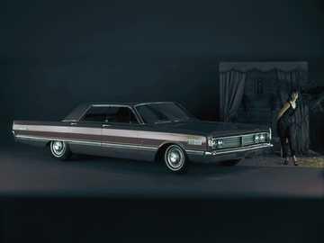 1966 Mercury Park Lane - Ceci est une photo d'une voiture américaine classique.