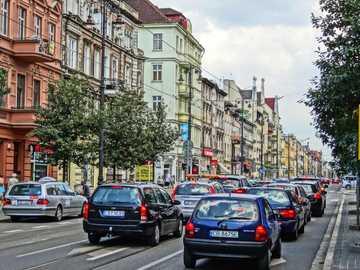 Bydgoszcz - Rue de Bydgoszcz, voïvodie de Cuyavie-Poméranie
