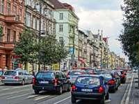 Bydgoszcz - rua em Bydgoszcz, voivodia de Kuyavian-Pomeranian