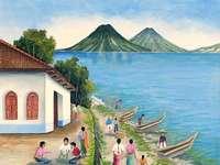 Cayucos in Lake Atitlan - Jose Antonio Gonzalez Escobar placeholder image