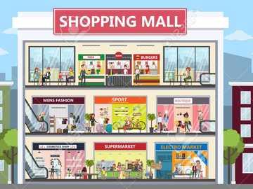 shopping para 3ª série - quebra-cabeça do shopping
