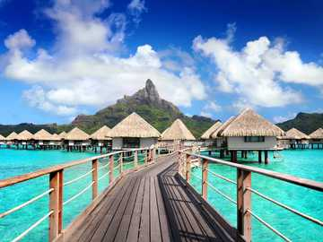 Resort in Bora Bora - Prachtig resort in Bora Bora