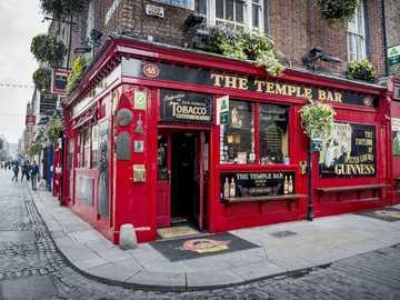 Dublin, Ireland - The Temple Bar, Dublin