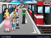 stacja kolejowa dla III klasy