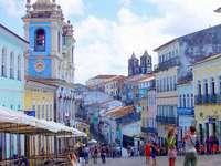 pasztellépítés Brazíliában