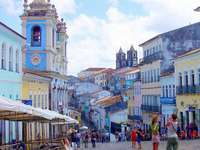 пастелна конструкция в Бразилия