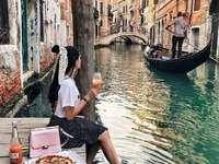 À Venise.