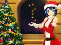 Christmas Madobe Nanami - Madobe Nanami but in Christmas style.