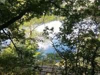 Window to the lake - Beauty in the Eifel
