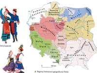Regio's van Polen - Historische en geografische regio's van Polen Geschiedenis - Lagere school van rang 4
