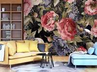 tapeta na ścianie - tapeta w mieszkaniu na ścianie