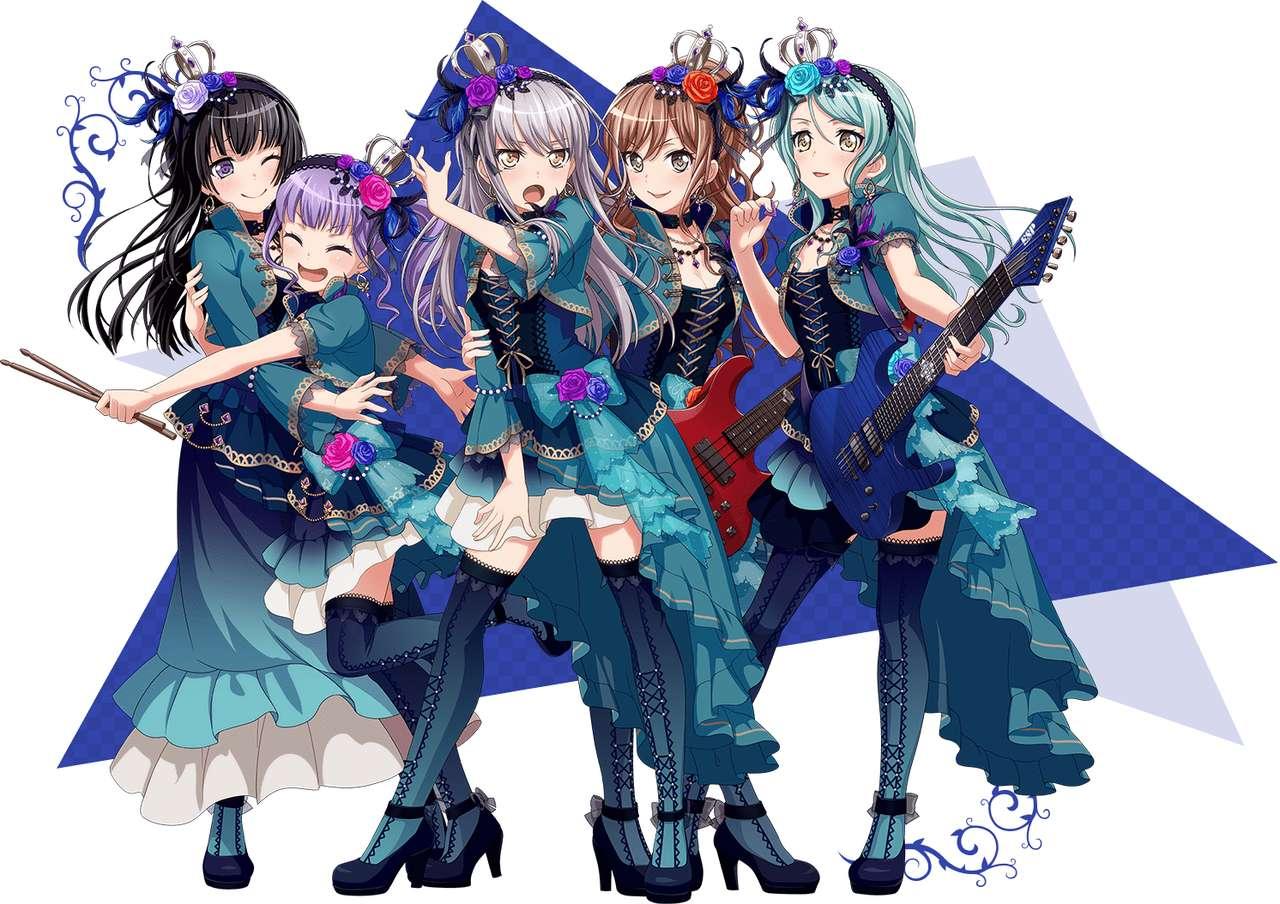Στολή 2ης σκηνής Roselia - Η Roselia είναι το αγαπημένο μου μουσικό συγκρότημα στην Ιαπωνία (11×8)