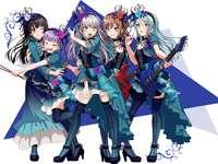 Roselia 2nd Stage Costume - Roselia to moja ulubiona grupa muzyczna w japonia