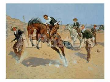 Pictura Frederic Remington - Pictat de Frederic Remington
